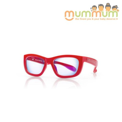 Shadez blue light glasses red junior 3-7y