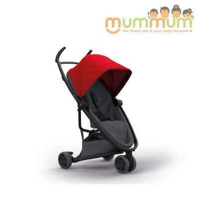 Quinny Flex Stroller Red on Graphite