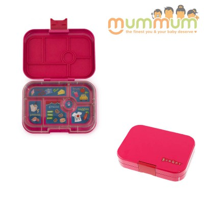 Yumbox 6 Compartments Tribeca Pink