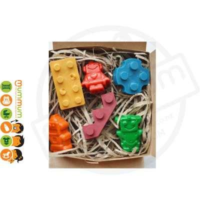 Tinta Crayons - Blocks & Robots