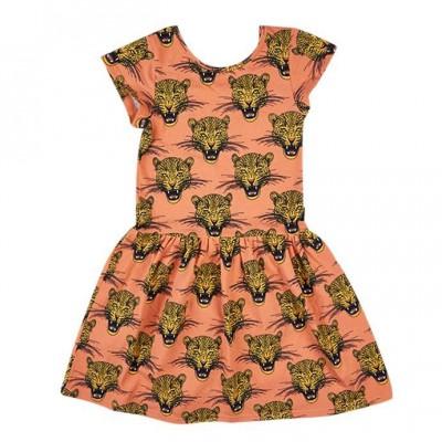 Rock your kid casati ss dress dark peach
