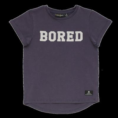 Rock Your Kid Bored Short Sleeve Tee 2Y-7Y