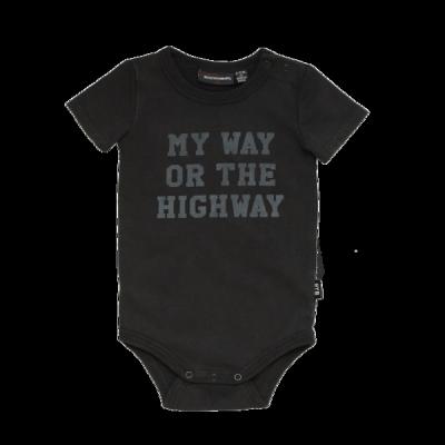 Rock Your Baby My Way Short Sleeve Bodysuit