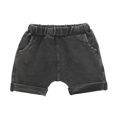 Rock Your Baby Smash Baby Shorts Black Wash