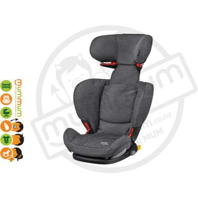 Maxicosi Rodifix AP Sparkling Grey Booster Seat 15-36kg Euro Made IsoFix
