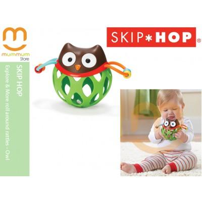 Skip Hop Explore & More Roll Around Rattles Owl