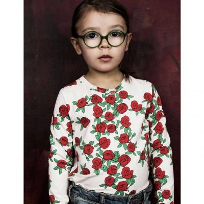Mini Rodini Rose Long Sleeve Tee