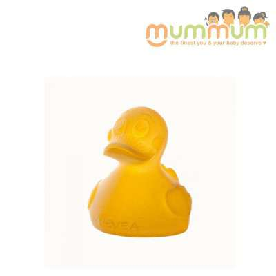 Hevea natural rubber bath toy BPA free PVC free phthalate free duck