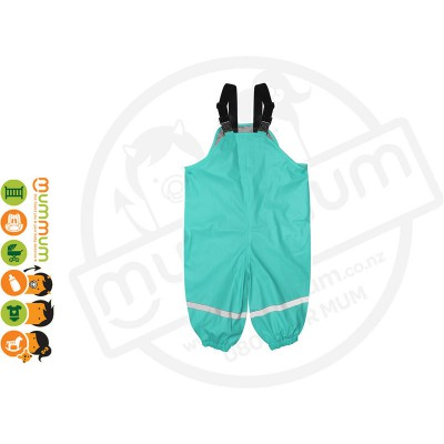 Silly Billyz Waterproof Polycotton Lined Overalls Choose Sizes from M - XL Aqua