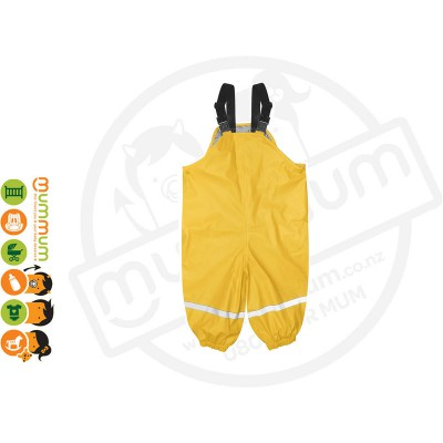 Silly Billyz Waterproof Polycotton Lined Overalls Choose Sizes from M-XL Yellow