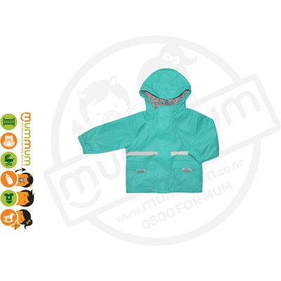 Silly Billyz Waterproof Polycotton Lined Jacket Choose Sizes from S - XL Aqua
