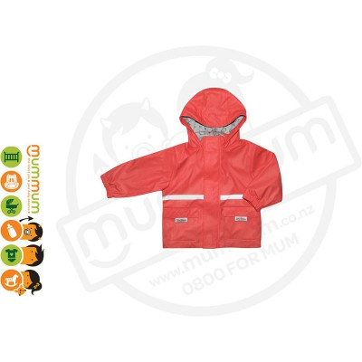 Silly Billyz Waterproof Polycotton Lined Jacket Choose Sizes from S - XL Red