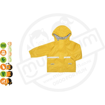 Silly Billyz Waterproof Polycotton Lined Jacket Choose Sizes from S - XL Yellow