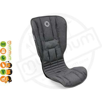 Bugaboo Bee5 Seat Fabric Grey Melange