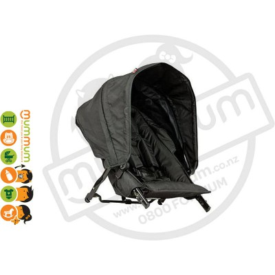 Steelcraft Strider Compact Second Seat Black