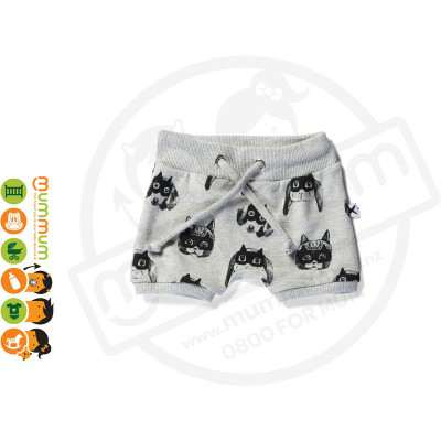 Minti Baby Animal Heroes Sport Short Grey
