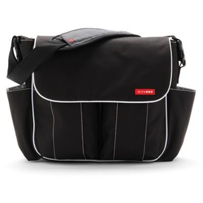 SKIP HOP DASH Delux Diaper Bag Black Nappy Bag Unisex