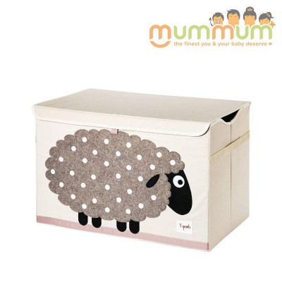 3 Sprouts Toy Chest Sheep 61 x37 x38cm