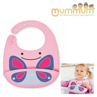 Skip Hop Zoo Silicone Bib - Butterfly