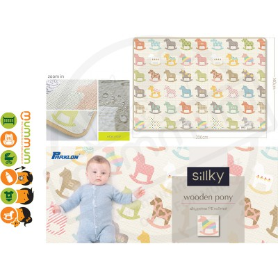 Parklon Sillky PE Rollmat Pony Light weight One Piece Play mat 2000X1500X12