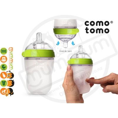 Comotomo Squeezy Silicon Soft Baby Bottle 250ml