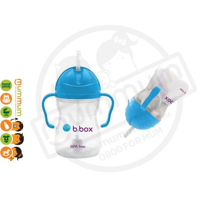 bbox sippy cup blueberry weighted straw 6 month+