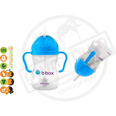 bbox Sippy Cup Colbalt 6m+ Weighted Straw