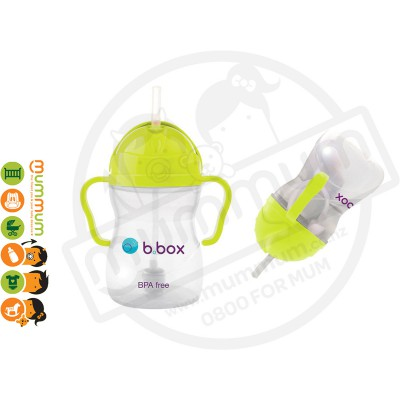 bbox Sippy Cup Pineapple Weighted Straw  Cross Cut