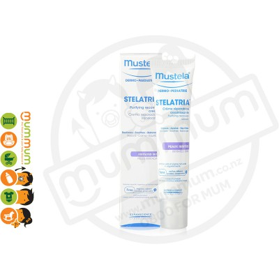 Mustela Stelaria Purifying Recovery Cream, Fragrance Free - 40ml