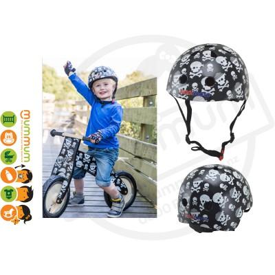 Kiddimoto Adjustable Skull & Bone Helmet