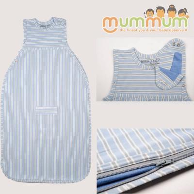 MerinoKids GoGo Bag Standard Weight - Sky Blue, 0-2y