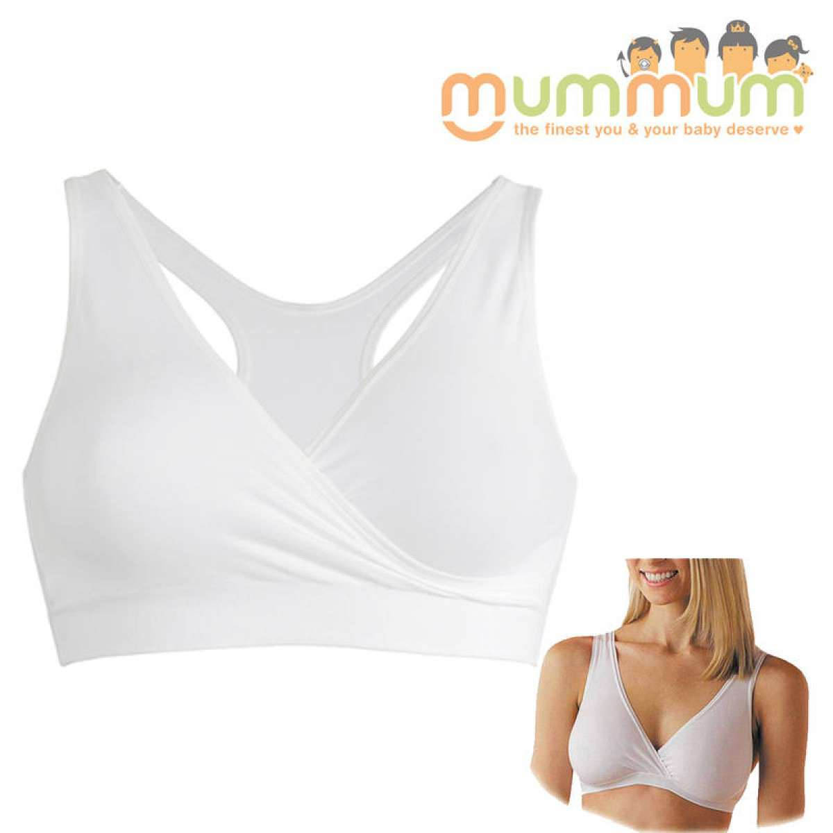 e9ab2a8d886a8 Availability  In Stock  Product Code  Medela Sleep Bra white L  Brand   Medela