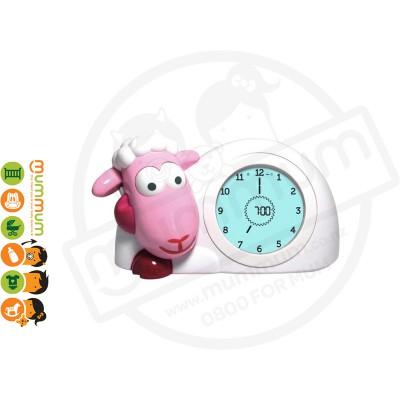 Zazu Sam The Lamb Sleeptrainer & Nightlight Pink