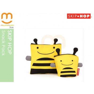 Skip Hop Zoo Reusable Sandwich and Snack Bag Set Bee