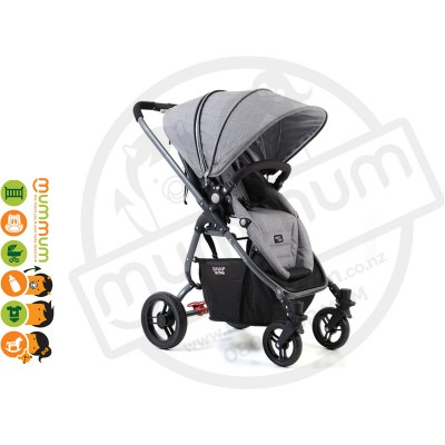 Valco Baby Snap Ultra Stroller Tailor Grey Marle