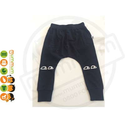 Minti Sneaky Eyes Bronx Trackies Black
