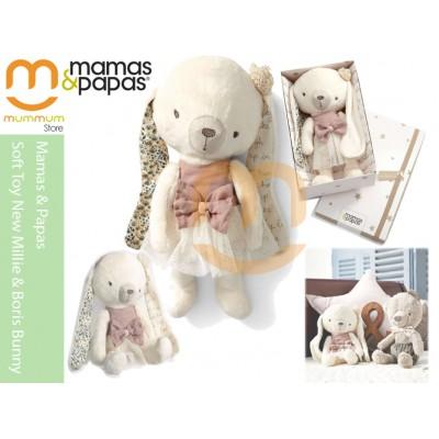 mamas & papas Soft Toy New Millie & Boris Bunny0M+