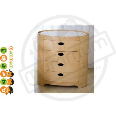 Kaylula Sova Chest For Storage & As Change Table