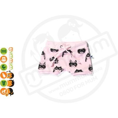 Minti Baby Animal Heroes Sport Short Pink