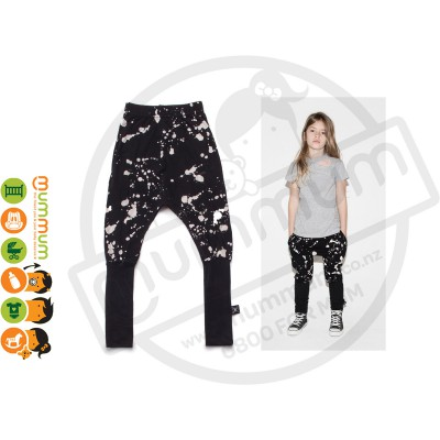 Nununu Splash Donkey Pants Black