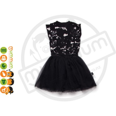 Nununu Splash Tulle Dress Black