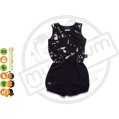 Nununu Splash Yoga Overall Black