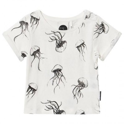 Sproet & Sprout White Jellyfish Print Tee