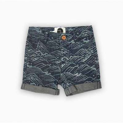 Sproet & Sprout Short Waves Blue Melange