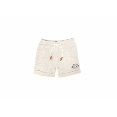 Sproet & Sprout Sweat Shorts Pufferfish Grey Melange