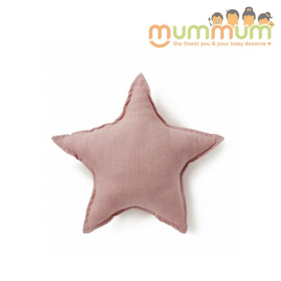 Nana & Huchy Star Cushion Pink 45cm
