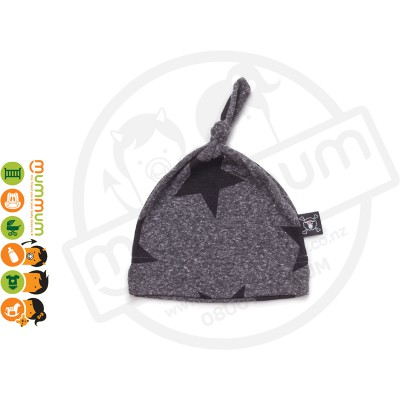 Nununu Star Hat Charcoal Grey
