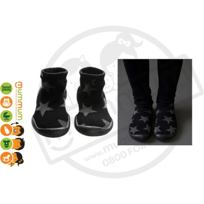 Nununu Star Slippers Black