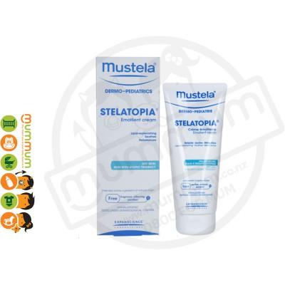 Mustela Stelatopia Emollient Cream 200ml NO Eczema