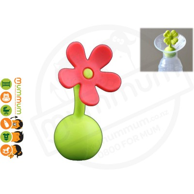 Silicone Breast Pump Flower Stopper Orange Designed for Haakaa Breat Pump